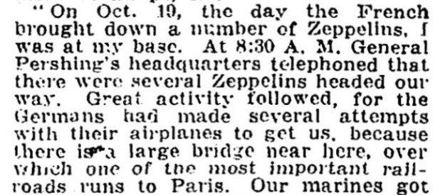 New York Times text, January 1918.