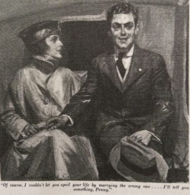 Illustration, Woman's Home companion, January 1918.