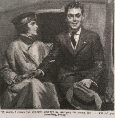 Illustration, Woman's Home companion, January 1918.