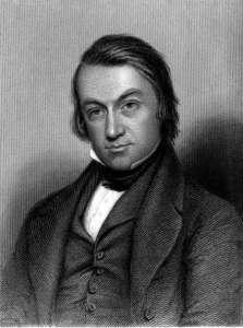 Portrait of Charles Mackay.