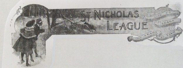 Banner, St. Nicholas League, St. Nicholas Magazine, 1918.