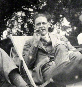 Photograph of T.S. Eliot by Lady Ottoline Morrell, 1923.