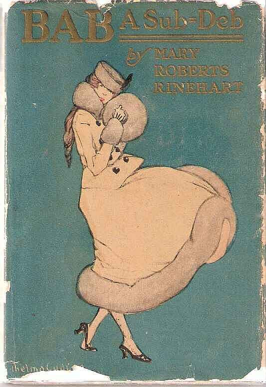 Cover, Bab A Sub-Deb by Mary Roberts Rinehart, 1917