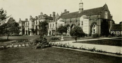 Photograph of Cambridge University by Maxwell Armfield, Cambridge and Its History, 1912.