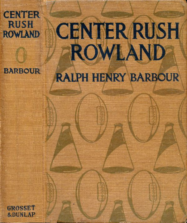 Cover of Center Rush Rowland, 1917.
