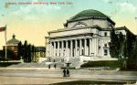 Postcard of Columbia University library, 1917.