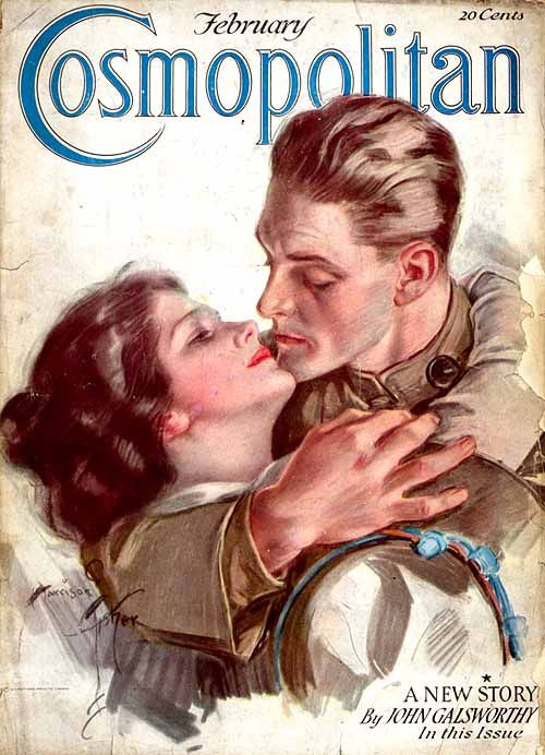 Cosmopolitan cover - February 1918