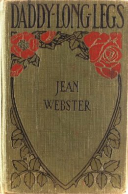 Daddy-Long-Legs by Jean Webster, first edition cover, 1912.