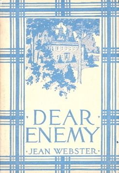 Dear Enemy by Jean Webster, first edition cover, 1912.