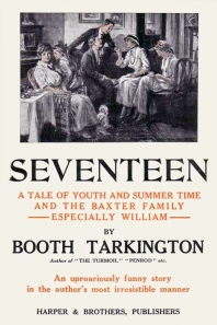 Seventeen by Booth Tarkington, first edition cover, 1916.
