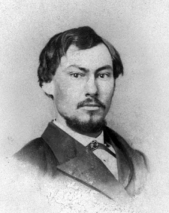 Portrait photograph of FDA founder Harvey Wiley, 1867.