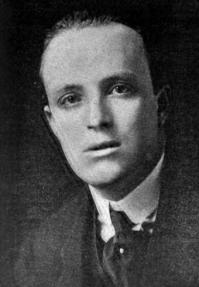 Novelist Hugo Walpole, 1915.