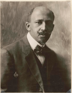 Portrait photograph of W.E.B. Du Bois, 1918.