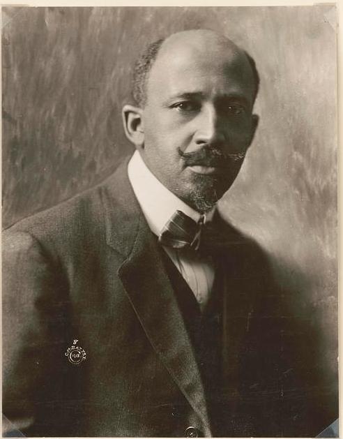 Portrait photograph of W.E.B. Du Bois, 1918.