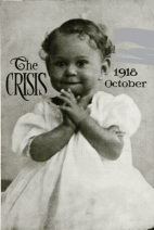 The Crisis October 1918 cover, photo of toddler
