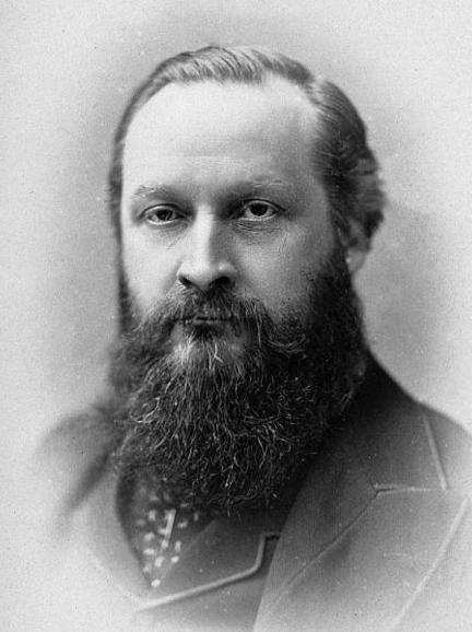 Photograph of Henry Maudsley, 1881.