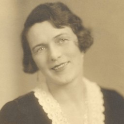 Photo portrait of bra inventor Mary Phelps Jacob.