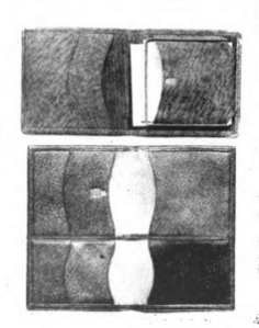 Three wallets, Vanity Fair, December 1918.