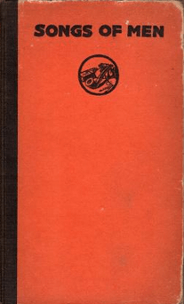 Cover of Songs of Men by Robert Frothingham, 1918.