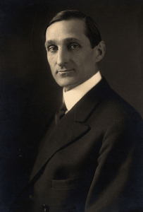 Portrait photograph of William Gibbs McAdoo, 1914.