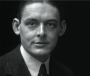 Portrait photograph of T.S. Eliot, 1919.