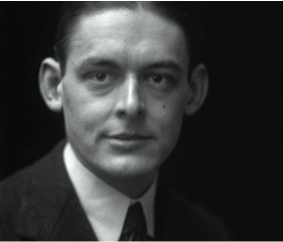 Portrait photograph of T.S. Eliot, 1919.