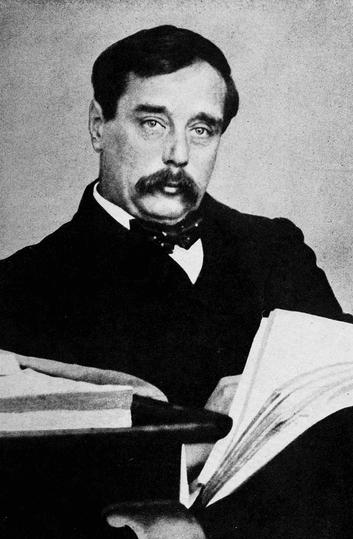Photograph of H.G. Wells, ca. 1918.