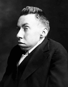 Photo portrait of Randolph Bourne.