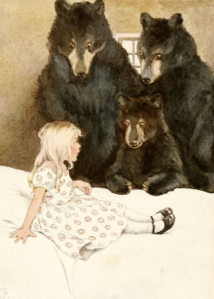 Three Bears, Mother's Nursery Tales, Katharine Pyle, 1918