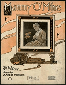 Sheet music cover for Mammy o' Mine