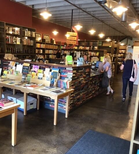 Pioneer Book counter, Provo
