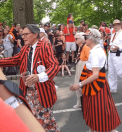 Marchers in Princeton P-rade, 2019.