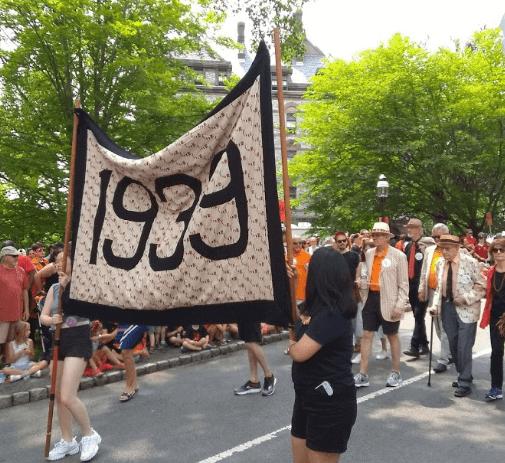 Princeton P-rade, Class of 1939.