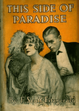 Dust jacket, This Side of Paradise, first edition.