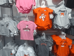 Princeton insignia wear for toddlers, U-Store