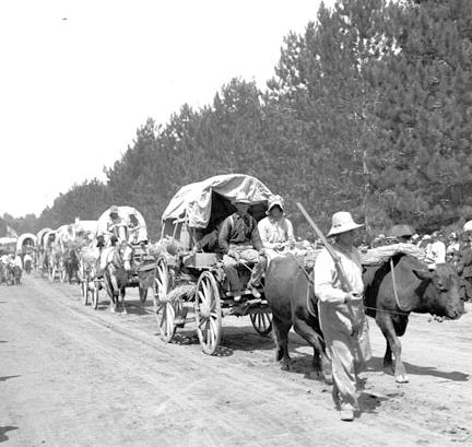 1912 Pioneer Day reenactment, Salt Lake City