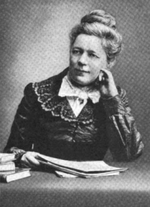 Portrait photograph of Selma Lagerlof, ca. 1915.