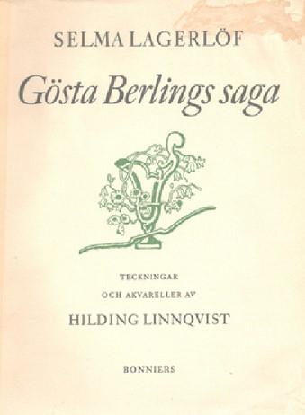 Title page of Gosta Berlings Saga by Selma Lagerlof.