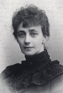 Portrait photograph of Sophie Elkan, ca. 1893.