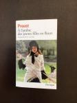 Cover of A L'ombre des jeunes filles en fleurs, Marcel Proust.