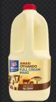 Bottle of amazi (sour milk).