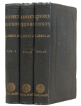Roderick Hudson, first edition, photo of 3 volumes.