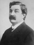 Portrait photograph of Senator William Lorimer, ca. 1921.