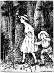 Illustration by Florence Liley Young from What Happened to Inger Johanne.