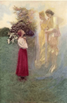 Illustration by Harold Pyle, Saint Joan of Arc by Mark Twain.