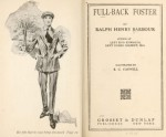 Title page and frontispiece of Full-Back Foster by Ralph Henry Barbour.