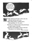 Riddle from John Martin Annual, 1917. Answer is rabbits and there are pictures of rabbits.