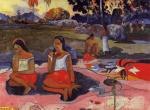 Sacred Spring, Paul Gauguin, 1894.