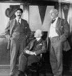 Ernest Thompson Seton, Robert Baden-Powell, and Dan Beard, date unknown.