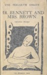 Cover of Mr. Bennett and Mrs. Brown, Virginia Woolf, 1924.